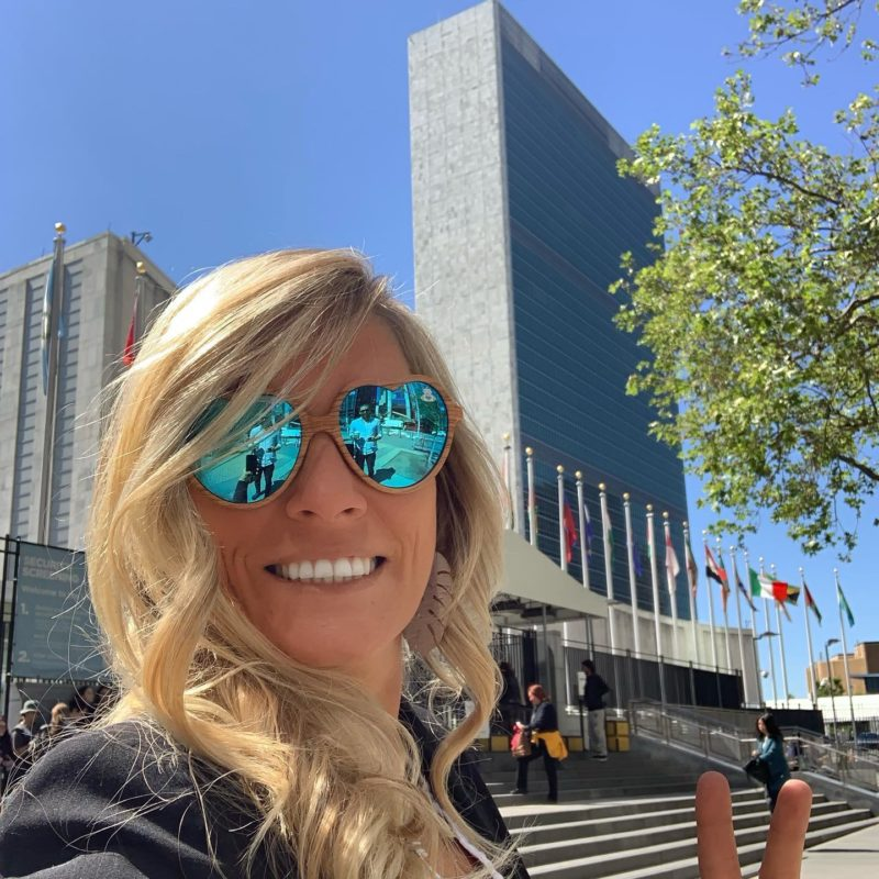 Susi Mai at UN for Blockchain for Impact Summit